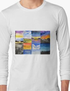 Different scapes ... Long Sleeve T-Shirt