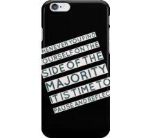 The Majority iPhone Case/Skin