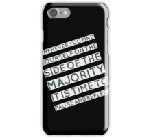 The Majority iPhone Case/Skin
