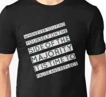 The Majority Unisex T-Shirt