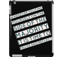 The Majority iPad Case/Skin