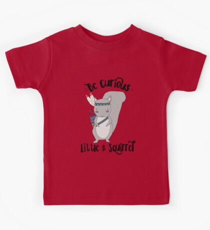 Woodland Squirrel Kids Tee