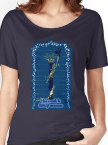 Sonic recharge, tardis variant Women's Relaxed Fit T-Shirt