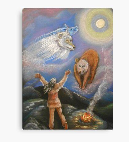 Spirit Quest Canvas Print