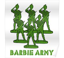 Barbie Army Poster