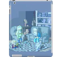 huffingsnarks glum day iPad Case/Skin