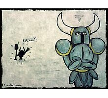 Helloo!! - Shovel Knight Photographic Print