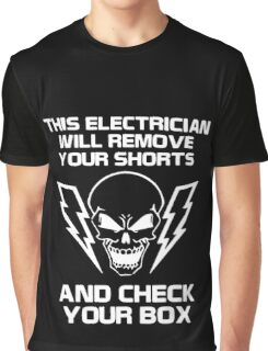 Electrician wire light Graphic T-Shirt