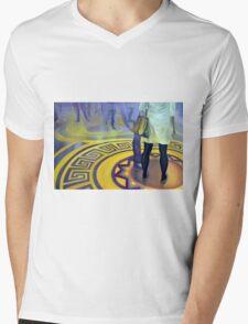 What am I doing here, 2013, 120-80cm, oil on canvas Mens V-Neck T-Shirt