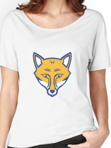 FOXES NEVER QUIT Women's Relaxed Fit T-Shirt