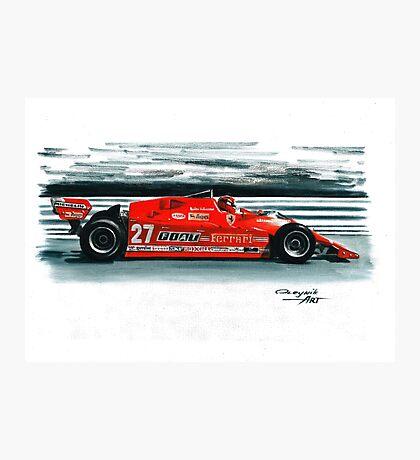 1981  Ferrari 126CX Photographic Print