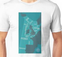 Shipping Forecast Map 1 Unisex T-Shirt