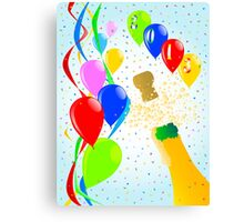 Champagne Party Canvas Print