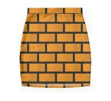 8 Bit Brick Wall Mini Skirt