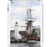 At Dock  iPad Case/Skin