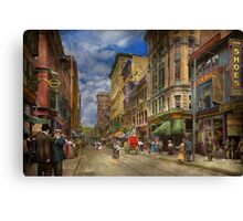 City - Providence RI - Living in the city 1906 Canvas Print