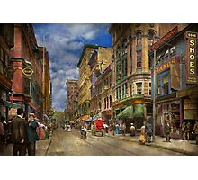 City - Providence RI - Living in the city 1906 Photographic Print