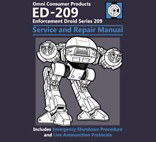 ED-209 Service and Repair Manual Unisex T-Shirt