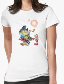 The Wise Elf Womens Fitted T-Shirt