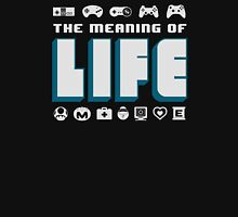 Video Games The Meaning Of Life Unisex T-Shirt