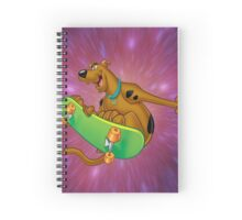 scooby black hole Spiral Notebook