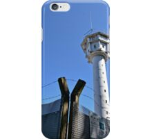 Berlin Wall, Berliner Mauer, Watch tower and barbwire iPhone Case/Skin