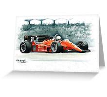 1984  Ferrari 126C4 Greeting Card