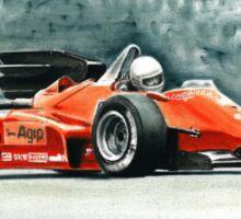 1984  Ferrari 126C4 Sticker