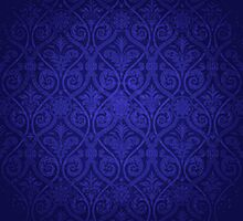 Blue Vintage Victorian by graciestlou
