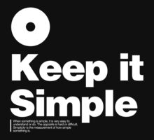 Keep it Simple Kids Tee