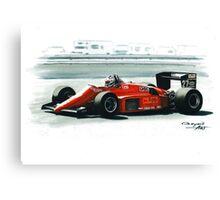 1985  Ferrari 156/85 Canvas Print