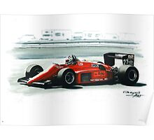 1985  Ferrari 156/85 Poster