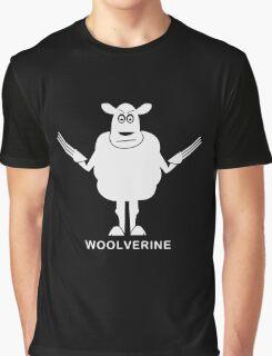 Wolverine Sheep Parody Graphic T-Shirt