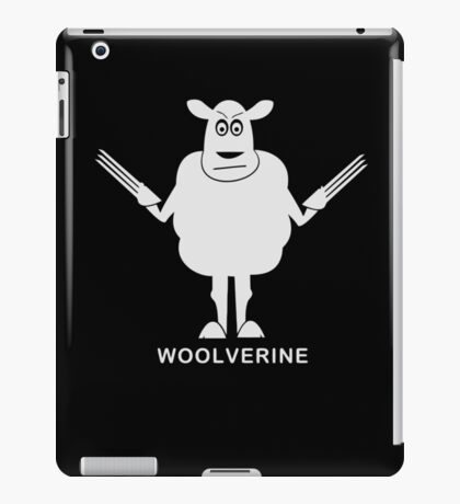 Wolverine Sheep Parody iPad Case/Skin