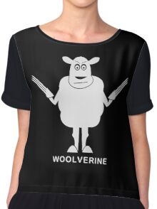 Wolverine Sheep Parody Chiffon Top