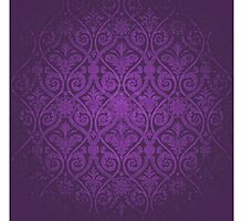 Purple Vintage Victorian by graciestlou