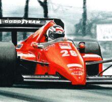 1986  Ferrari F1-86 Sticker