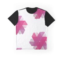 Purple Pinwheel Graphic T-Shirt