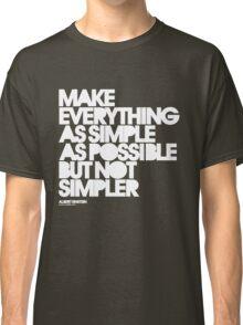 Simple Classic T-Shirt