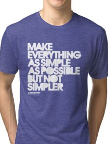 Simple Tri-blend T-Shirt
