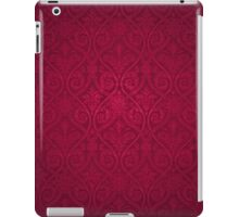 Red Vintage Victorian iPad Case/Skin