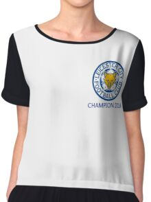 Leicester city Champion 2016 Women's Chiffon Top