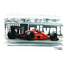 1987  Ferrari F1-87 Photographic Print
