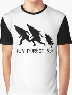 Run Forest Run Graphic T-Shirt