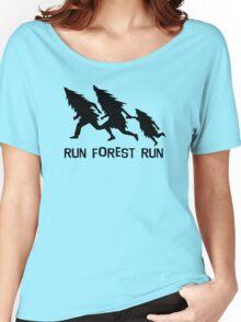 Run Forest Run Women's Relaxed Fit T-Shirt