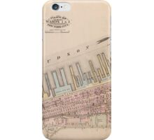 New York's piers iPhone Case/Skin