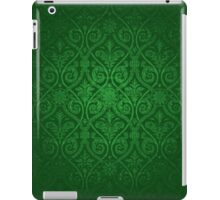 Green Vintage Victorian iPad Case/Skin