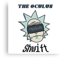 Rick And Morty - Oculus Shwift Canvas Print