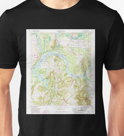 USGS TOPO Map Alabama AL Triana 305237 1964 24000 Unisex T-Shirt