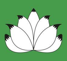 Fox Tail Lotus Flower One Piece - Short Sleeve